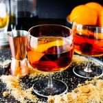 Brown Sugar Manhattans