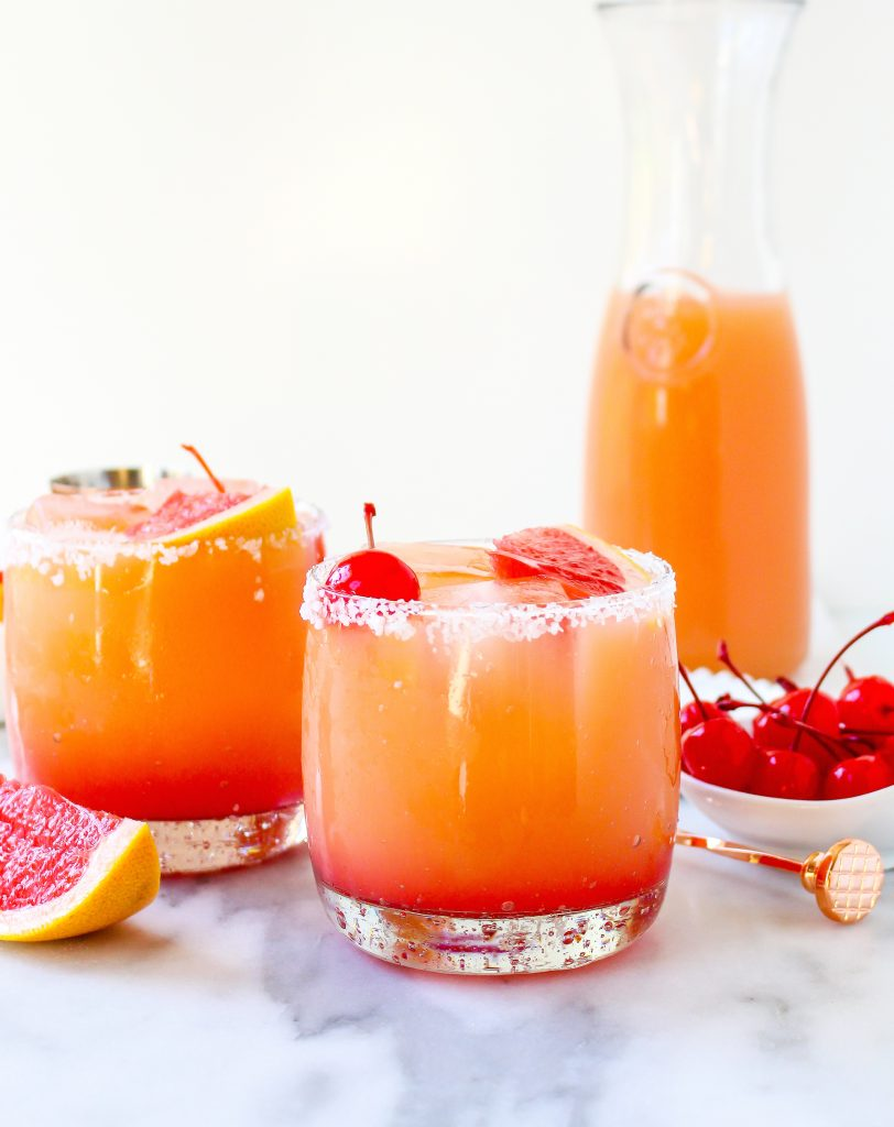 Gingery Grapefruit Salty Dogs