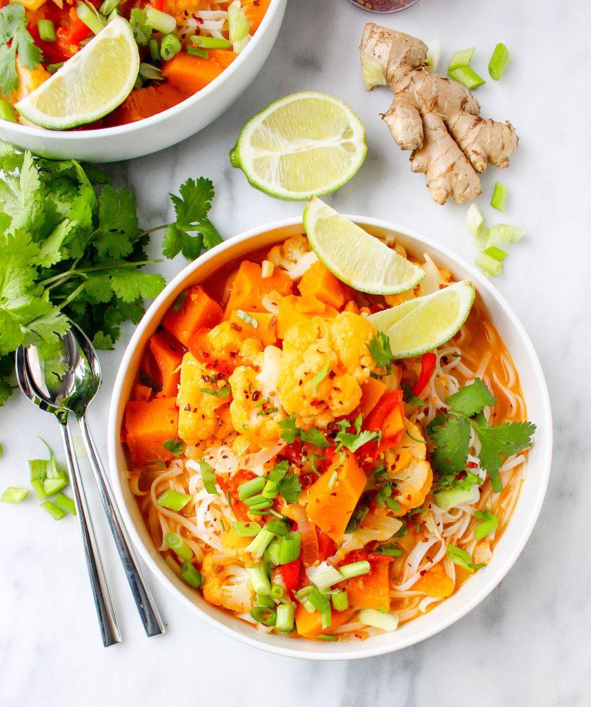 Butternut Squash & Cauliflower Coconut Curry