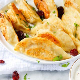 Thanksgiving Leftovers Pierogi