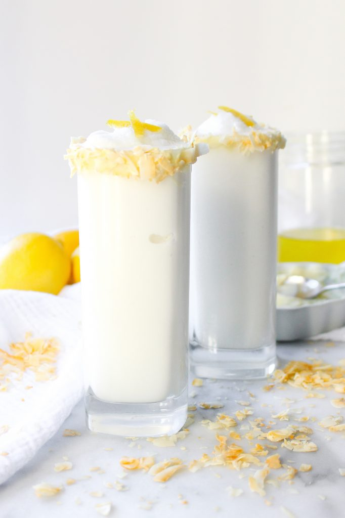 Lemon Coconut Frosties