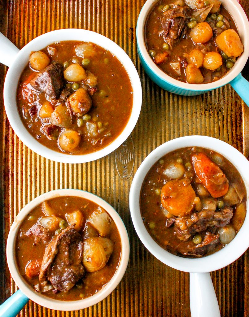 Beef Bourguignon Pot Pies