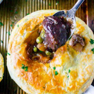 Beef Bourguignon Pot Pies