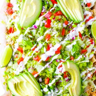Our Favorite Chicken Ranch Nachos