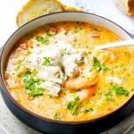 Slow-Cooker Shrimp & Crab Bisque
