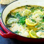 One-Pan Lemon Garlic Chicken with Greens