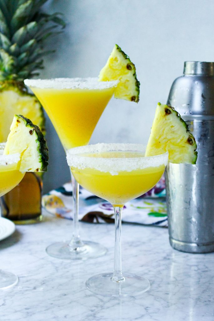 Pineapple & Vanilla Bean Martinis