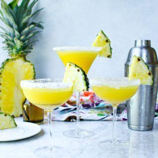 Pineapple & Vanilla Bean Martinis