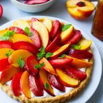Stone Fruit & Whipped Honey Ricotta Puff Pastry Tart