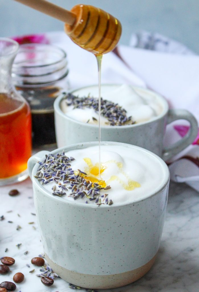 Honey Lavender Lattes