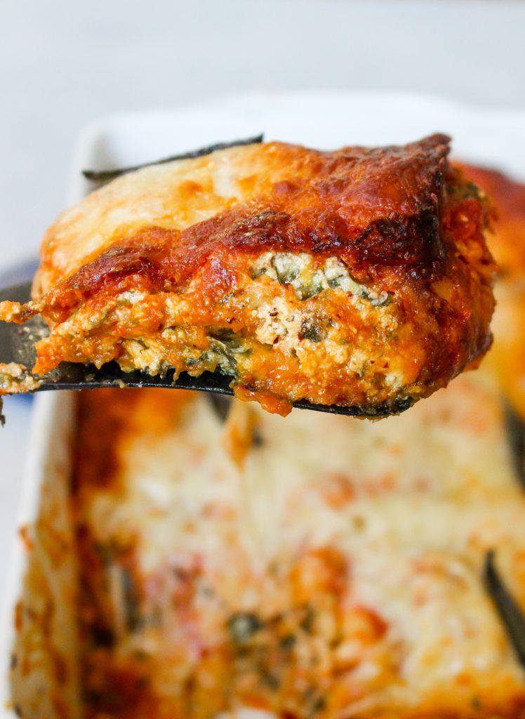 Butternut Squash, Sage, & Goat Cheese Lasagna