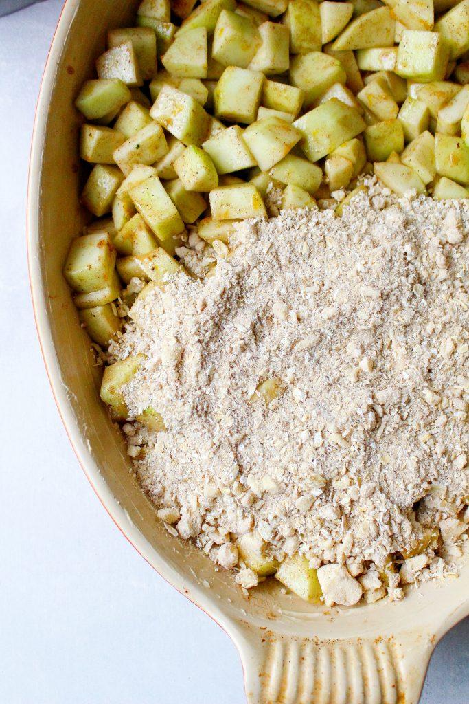 Chai Apple Crisp