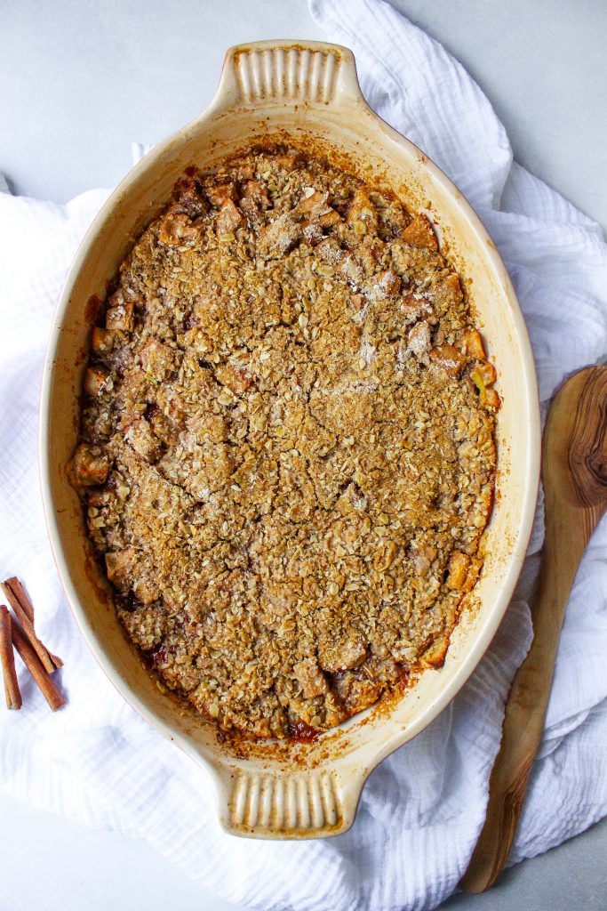 Chai Apple Crisp