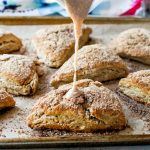 Cinnamon Sugar Crunch Scones