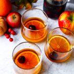 Apple Cider Manhattans