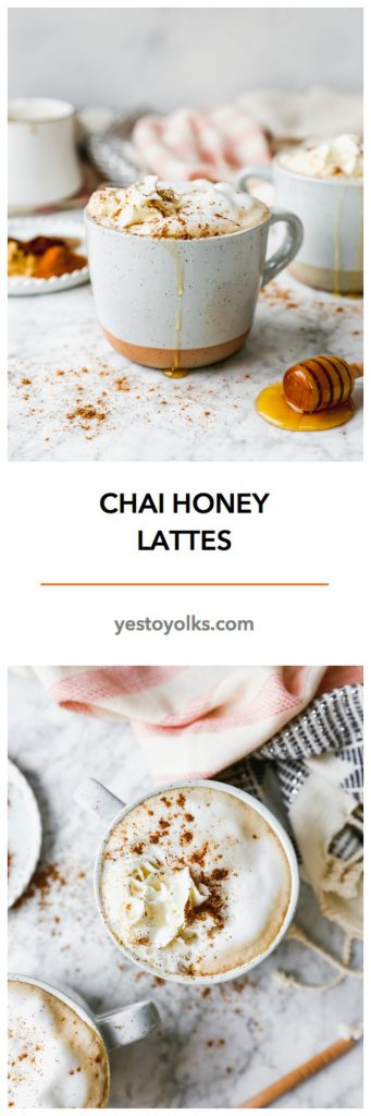 Chai Honey Lattes