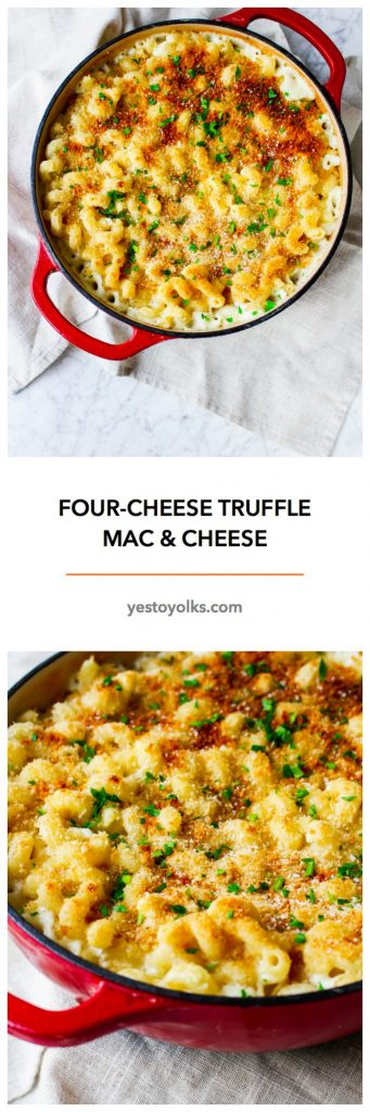 Four-Cheese Truffle Mac-and-Cheese