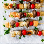 Beef Tenderloin Crostini Skewers