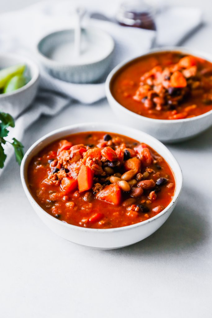 Butternut Squash & Chicken Chili