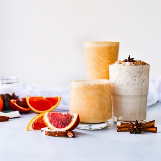Two Winter Smoothies (+ a Dona Chai Instagram giveaway!)