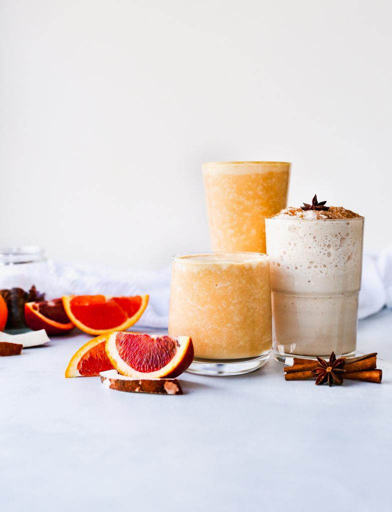 Two Winter Smoothies