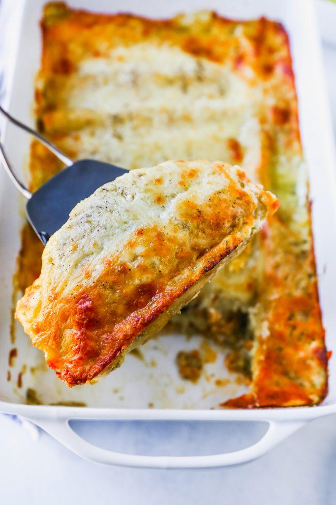 Chicken Taco Enchiladas