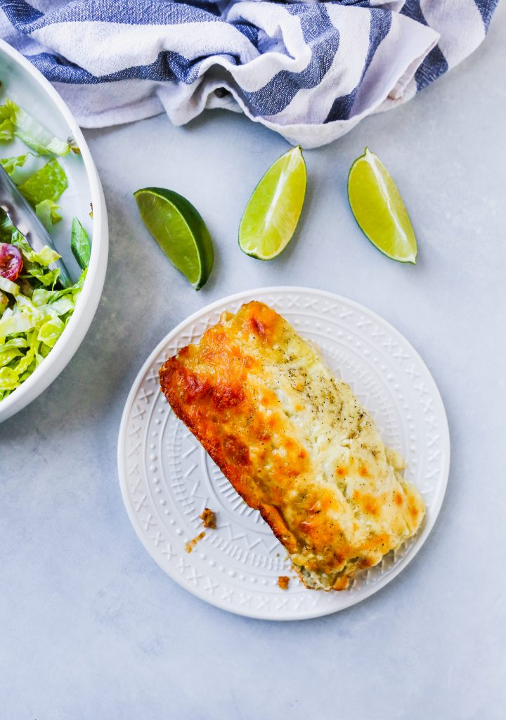 Chicken Taco Enchiladas