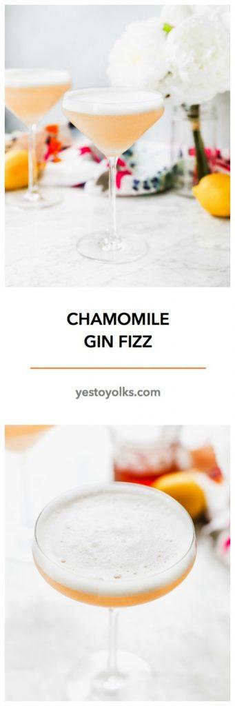 Chamomile Gin Fizz