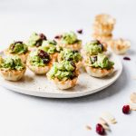 Green Goddess Chicken Salad Phyllo Cups