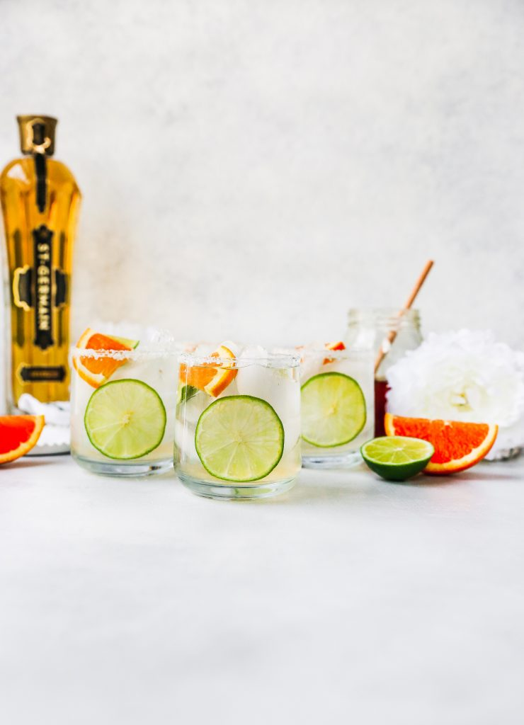 Elderflower & Honey Margaritas