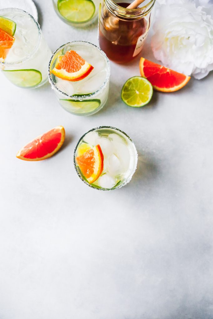Elderflower & Honey Margaritas