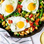 Spring Hash with Eggs & Dill Hollandaise
