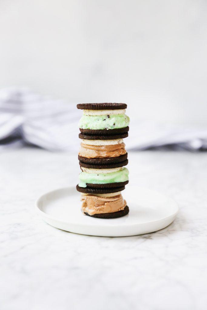 Oreo Ice Cream Sandwiches