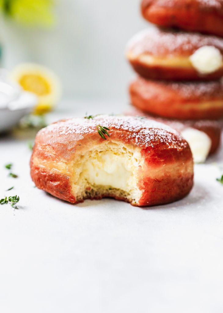 Lemon Thyme Donuts