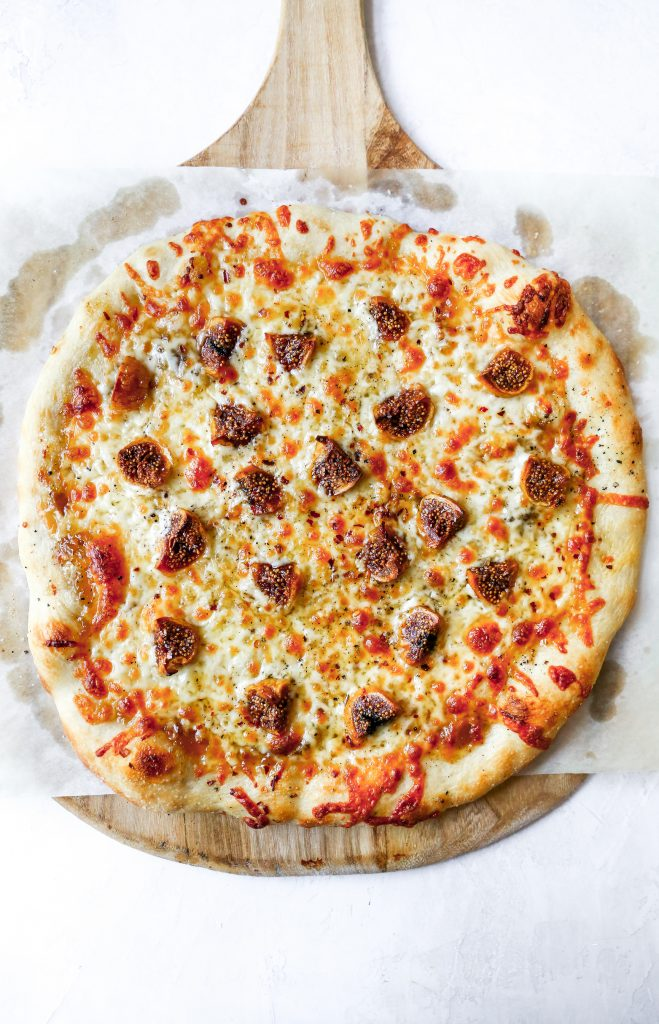 Smoked Mozzarella & Fig Pizza