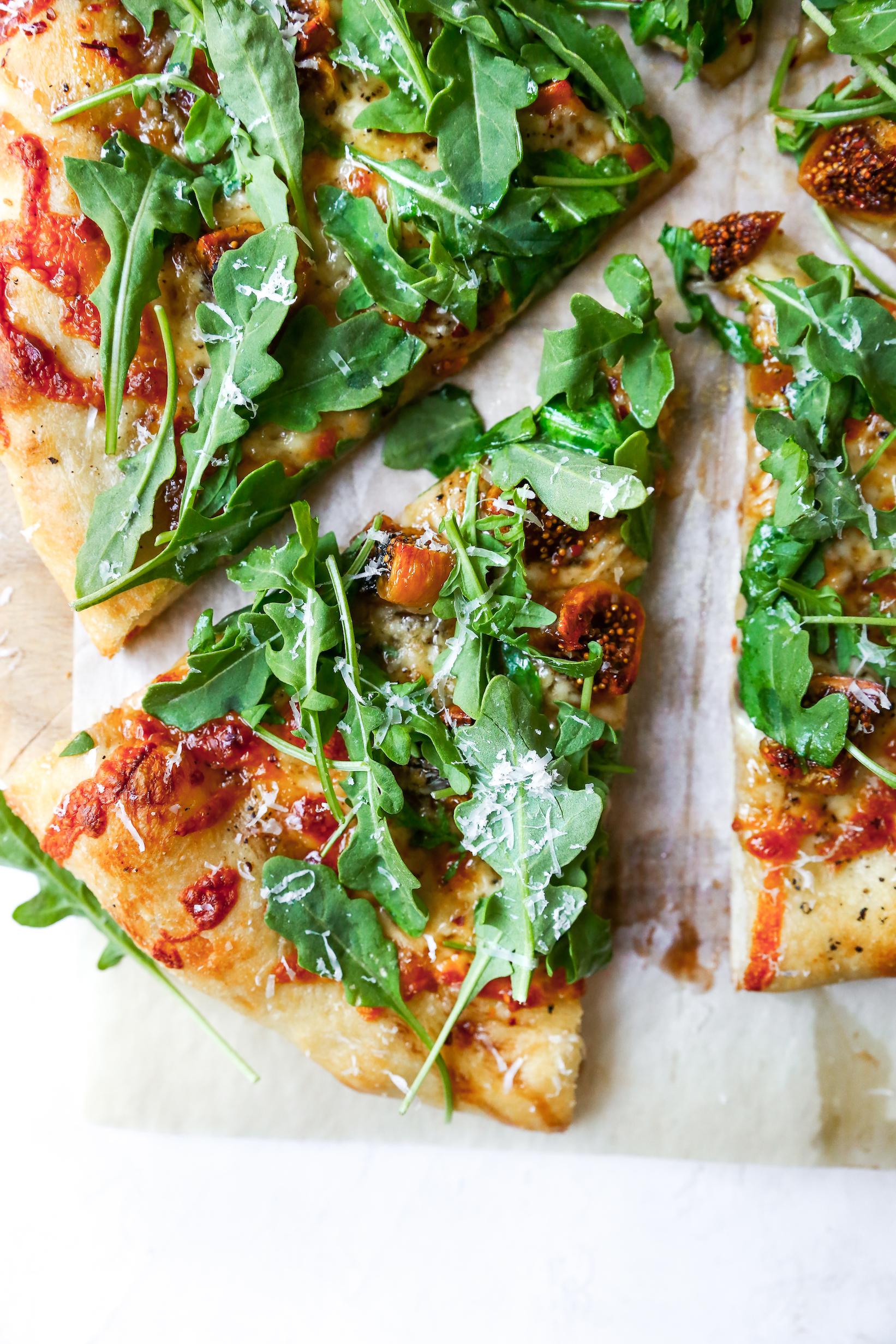 Smoked Mozzarella & Fig Pizza