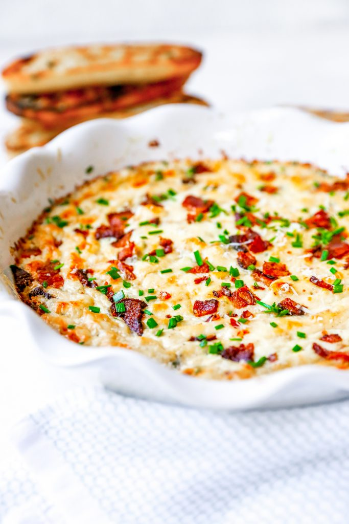 Caramelized Onion & Bacon Dip