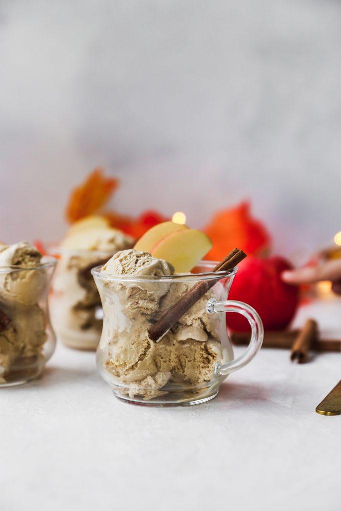 Spiced Apple Cider Ice Cream