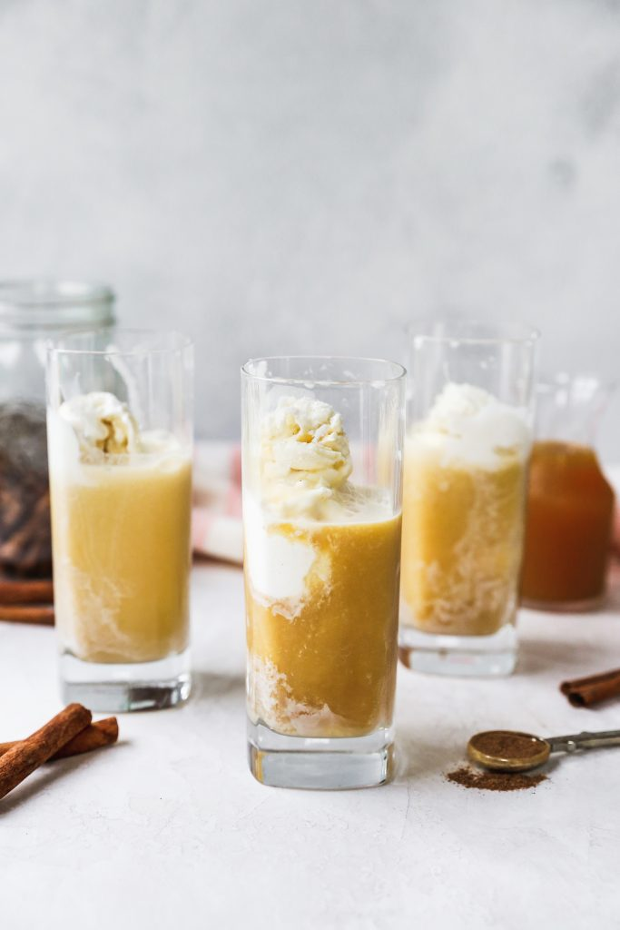 Chai-Spiced Cider Floats