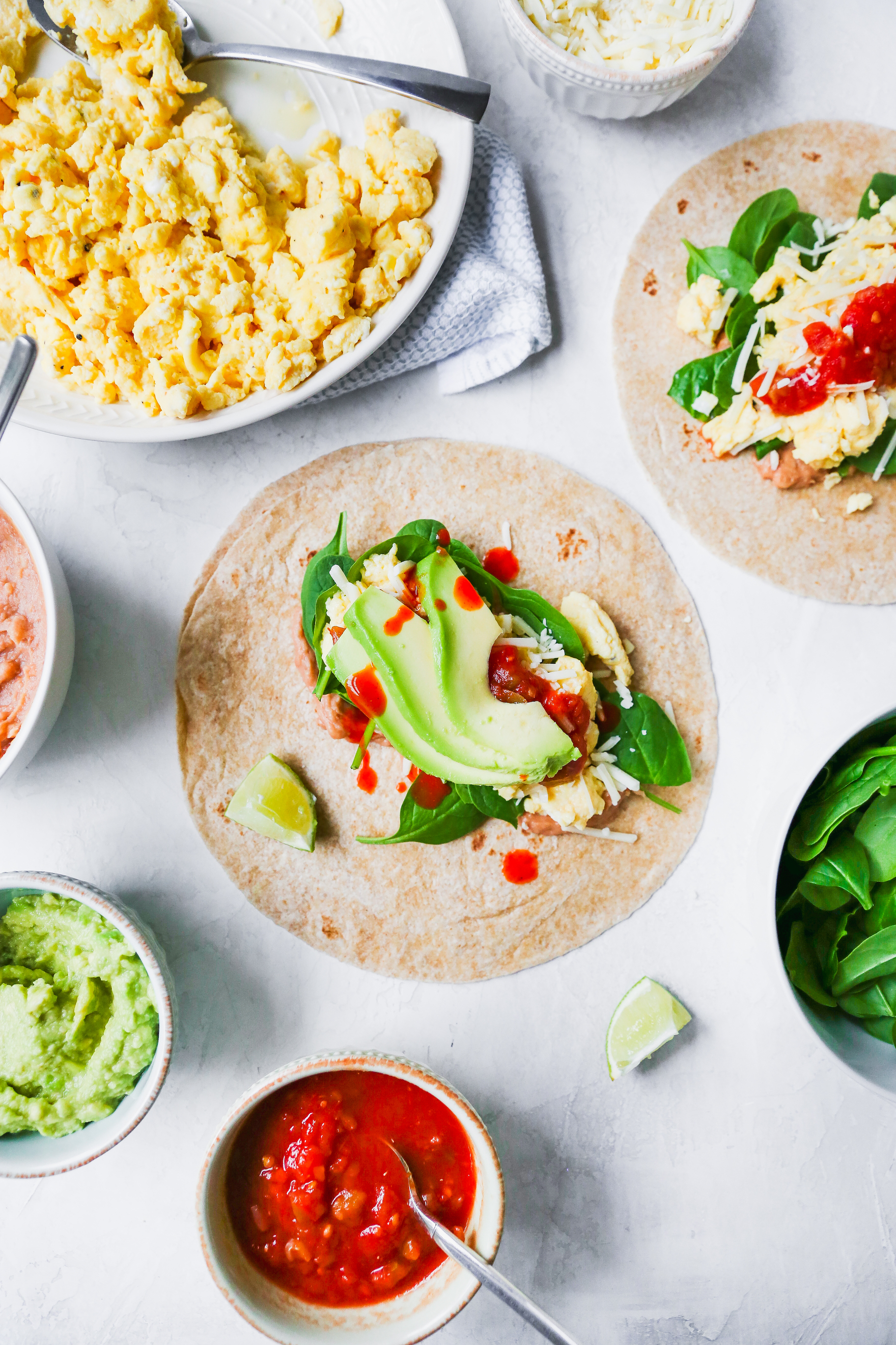 Meal Prep Southwestern Breakfast Burritos