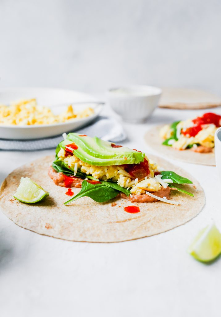 Meal Prep Southwestern Breakfast Burritos