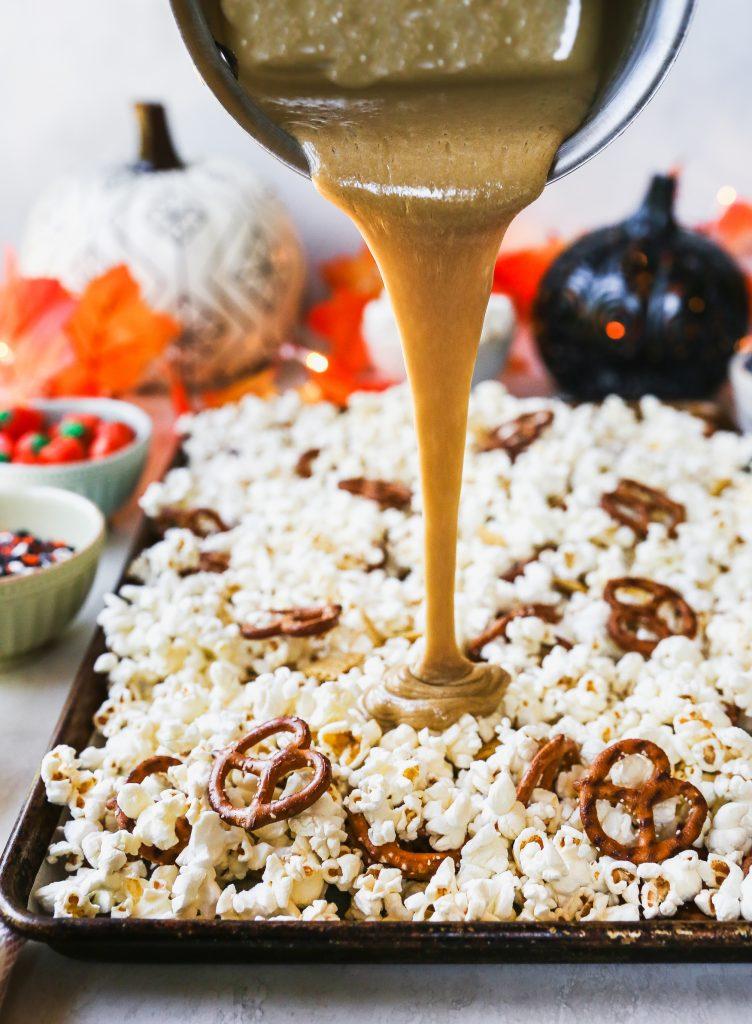 Monster Munch Marshmallow Popcorn Snack Mix
