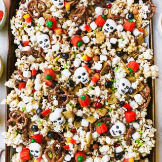 Monster Munch Marshmallow Popcorn Snack Mix