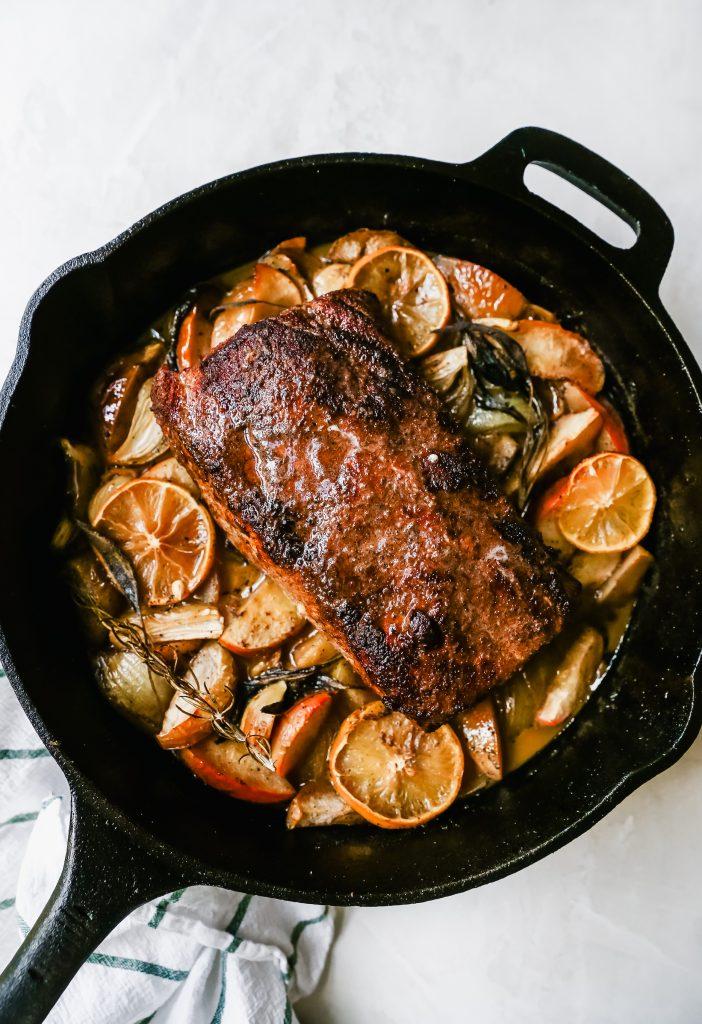 Chai Apple Pork Roast