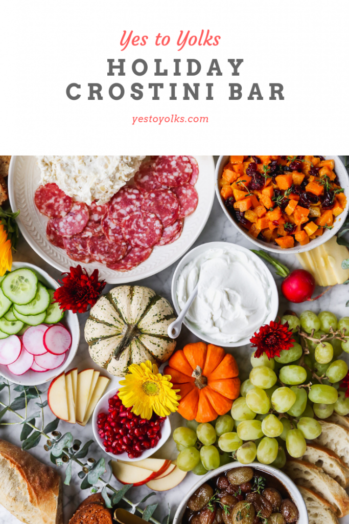 Holiday Crostini Bar