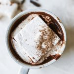 Hot Chocolate with Chai-Spiced Marshmallows