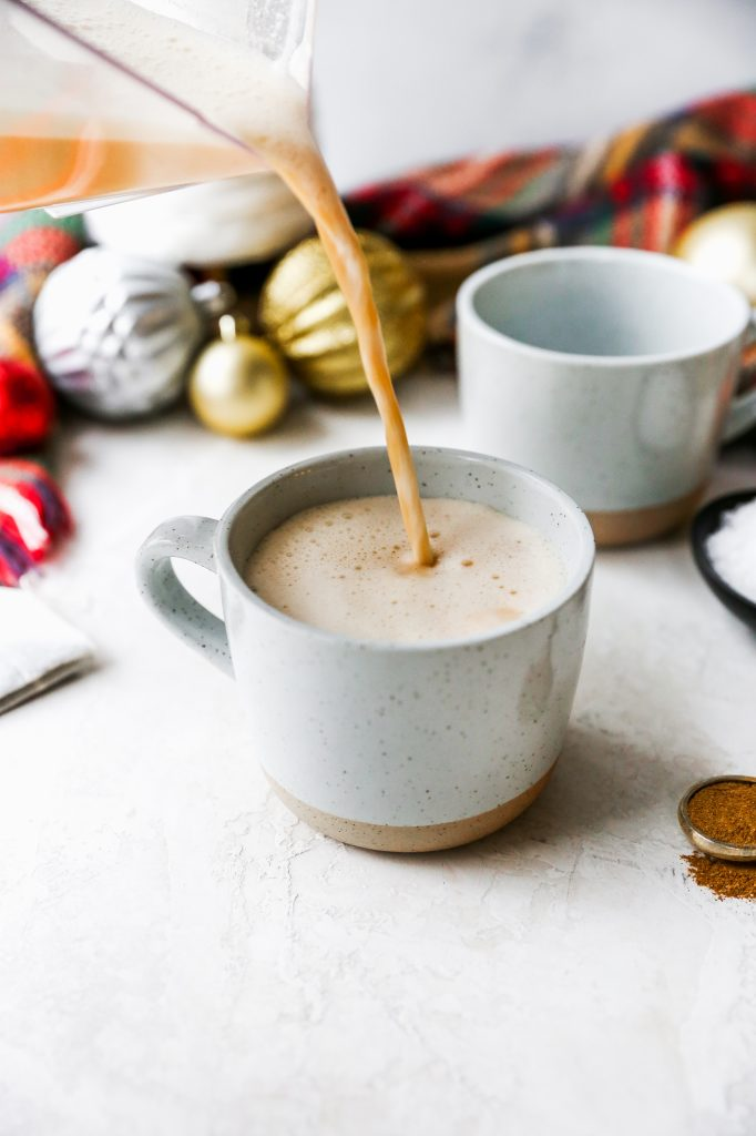 Salted Maple Coconut Chai Latte
