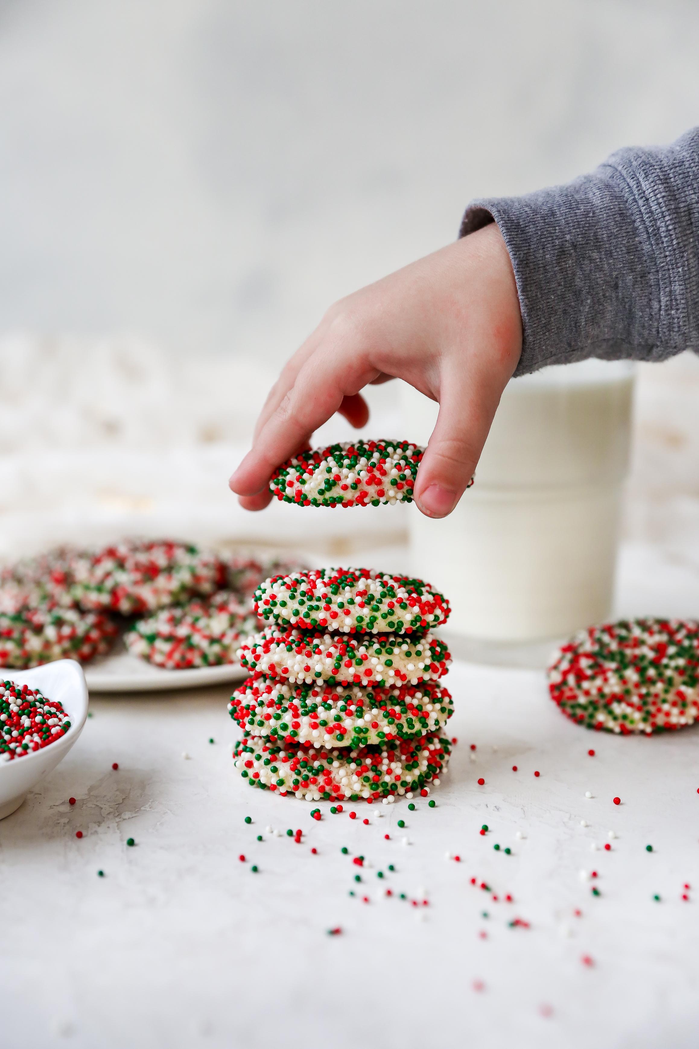 THE BEST Vanilla Bean Sugar Cookies