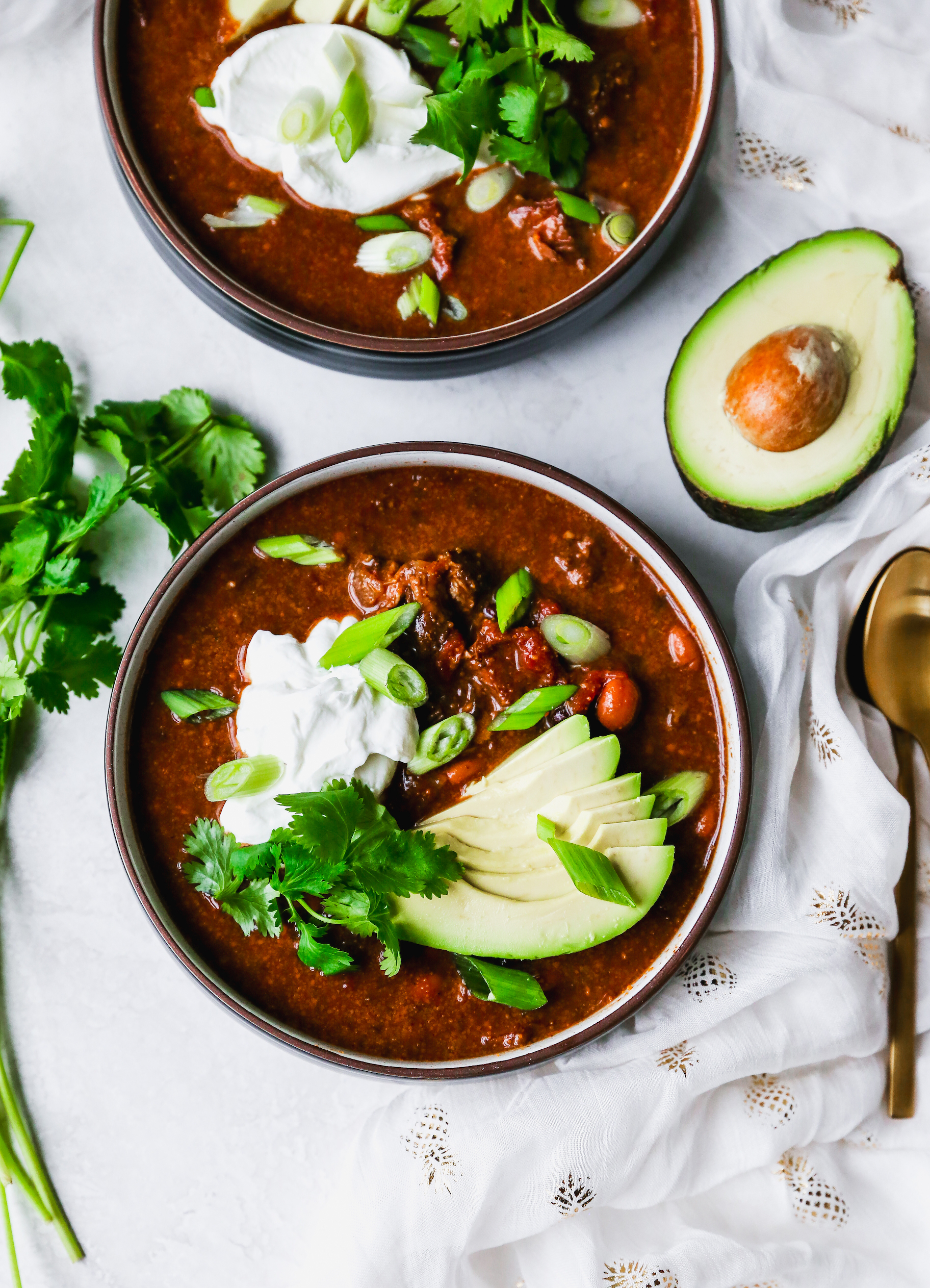 Slow-Cooker Ancho Chile & Chocolate Beef Chili