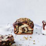 Salted Chocolate Pistachio Babka